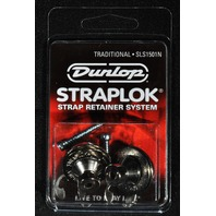 Dunlop Straplok Traditional System SLS1501N Nickel Straplocks