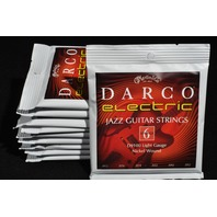 10 SETS MARTIN DARCO D9100 LIGHT GAUGE JAZZ ELECTRIC GUITAR STRINGS 12-52