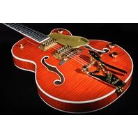 Gretsch G6120T-FM Players Edition Nashville Flamed Top Guitar