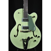 Gretsch G6118T-SGR 2 Tone Smoke Green Hollow Body Anniversary Guitar Players Edition