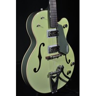 Gretsch G6118T-60VS Vintage Select Anniversary 2-Tone Smoke Green Guitar W/Bigsb