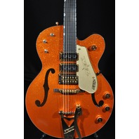 GRETSCH USA CUSTOM SHOP G6120CST CANDY TANGERINE SPARKLE NASHVILLE