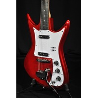 EASTWOOD ICHIBAN K2-L METALLIC RED GUITAR GIG BAG INCLUDED