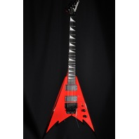 JACKSON PHIL DEMMEL SIGNATURE KING V RED W/BLK BEVELS  MIJ GUITAR  HARDSHELL  INCLUDED