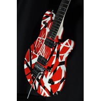 EVH WOLFGANG SPECIAL R/B/W STRIPED ARCHTOP GUITAR