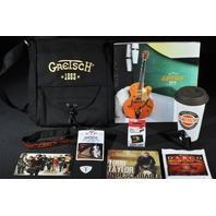 GRETSCH GIFT PACKAGE UTILITY BAG STRINGS CUP LANYARD ETC