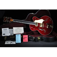 GRETSCH  FALCON G6136TFM-DCHY TIGER FLAME DARK CHERRY LIMITED EDITION GUITAR