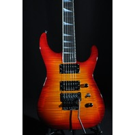 JACKSON USA SL2H BURNT CHERRY BURST SOLOIST GUITAR W/HARDSHELL CASE