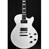 D'ANGELICO PREMIER SS WHITE SEMI-HOLLOW BODY CENTER BLOCK GUITAR W/GIG BAG