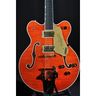 GRETSCH  G6620TFM PLAYERS EDITION CENTER BLOCK  GUITAR ORANGE FLAME
