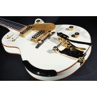 Gretsch G6134T-58VS Vintage Select White Penguin Guitar With Bigsby