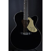 Gretsch G5022CBFE Black Jumbo Rancher Black Falcon  Acoustic Electric Guitar
