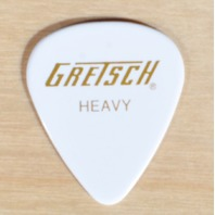 Gretsch 351 White Hevy Guitar Pick 48 Picks (4-Dozen)