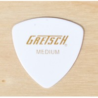 GRETSCH 346 WHITE MEDIUM GUITAR PICKS 72 PICKS (1/2 GROSS)