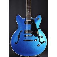 Guild Starfire IV Blue Guitar W/Hardshell Case Lmt Edition