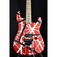 EVH STRIPE SERIES 5150 RED/BLACK/WHITE GUITAR (IN STOCK)