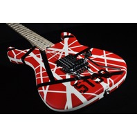 EVH STRIPE SERIES 5150 RED/BLACK/WHITE GUITAR (IN STOCK)
