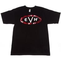 Evh Logo Tee Shirt Black Large 912-2001-506