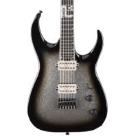 Jackson USA Mansoor Juggernaut Bulb HT6 Silver Burst Sparkle Guitar W/Hardshell Case Mint