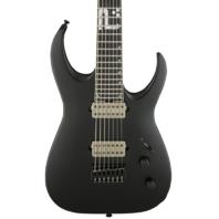 Jackson USA Mansoor Juggernaut Bulb HT7 Matte Black Guitar W/Hardshell Case Mint