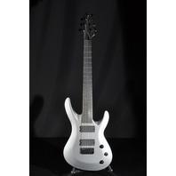 Jackson USA Select B7DXMG Deluxe Satin Gray Guitar W/Hardshell Case Dinged