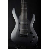 Jackson USA Select B8 Dimarzio Bolt On Satin Black Guitar W/Hardshell Case Mint