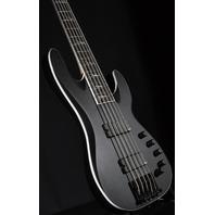 Jackson USA Ellefson Concert V 5 String Satin Black Bass W/Hardshell Case Mint