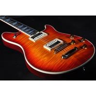 EVH Wolfgang USA Custom Deluxe Vintage Cherry Burst Guitar W/Hardshell Case