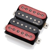 EMG Super 77 Retro Active Guitar Pickup Set Red/Black
