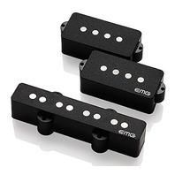 EMG GZR-PJ HZ Geezer Butler Signature Bass Pickup Set Black