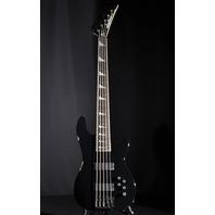 Jackson USA Custom Shop Ellefson RIP Concert Bass 5 Black 20th Anniversary Lmt. Ed.