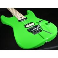 Charvel SD1 Pro Mod  San Dimas SD1 2H Floyd Rose Slime Green Guitar Mint