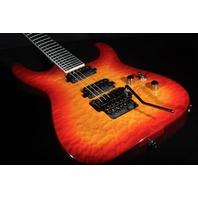 Jackson Pro Soloist SL2Q Mahogany Burnt Cherry Burst Guitar W/Gig Bag