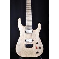 Jackson Pro Dinky DKA7M Natural Ash Guitar