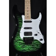 Jackson X Signature Adrian Smith SDXQ Trans Green Burst Guitar