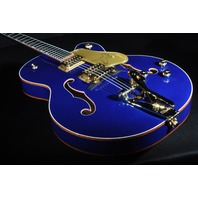 Gretsch G6136T-AZM Azure Blue Limited Edition Falcon Guitar