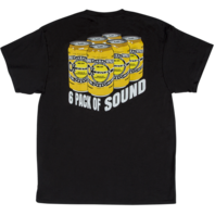 Charvel 6Pack Of Sound Logo Tee Shirt Black Small