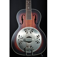 Gretsch G9241 Alligator Biscuit Resonator Guitar AC/EL Round Neck Mint 2018