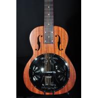 Gretsch G9210 Boxcar Resonator Guitar Natural Square Neck