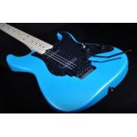 Charvel SC1 Pro Mod  So-Cal SC1 2H Floyd Rose Matte Frost Blue Guitar