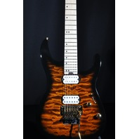 Charvel DK24  HH FR Root Beer Burst Maple Neck Guitar