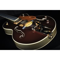Gretsch 135th Anniversary  Black Cherry Metallic Casino Gold Electromatic Guitar G5420tg-135th