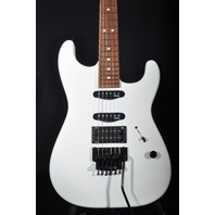 Charvel USA Select San Dimas HSS Floyd Rose Snowblind Guitar Dinged