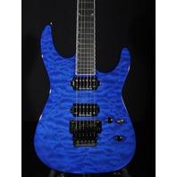 Jackson Pro Soloist SL2Q Mahogany Trans Blue Guitar