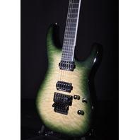 Jackson Pro Soloist SL2Q Alien Burst Guitar