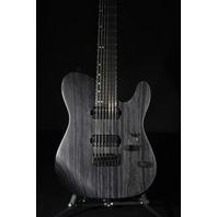Charvel SD2-7 HH HT Ash Pro Mod San Dimas  7 String Charcoal Grey Guitar W/Ebony Fretboard