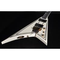 Jackson Pro Rhoads RR3  Ivory W/Black Pins Guitar