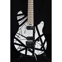 EVH Wolfgang Special Black White Striped Archtop Guitar