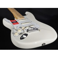 Fender American Pro Lefty Stratocaster White Maple Neck Guitar