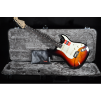 Fender American Pro Stratocaster Rosewood Fretboard  3-Tone Sunburst Guitar W/Hardshell